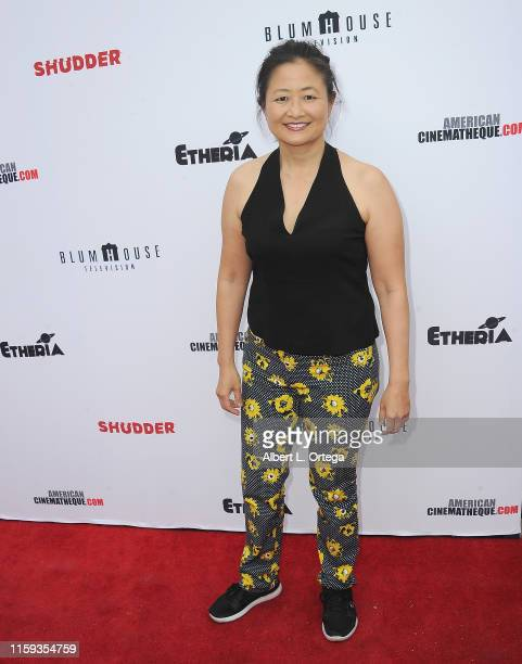 Toy Lei attends the 6th Annual Etheria Film Showcase held at American Cinematheque's Egyptian Theatre on June 29 2019 in Hollywood California