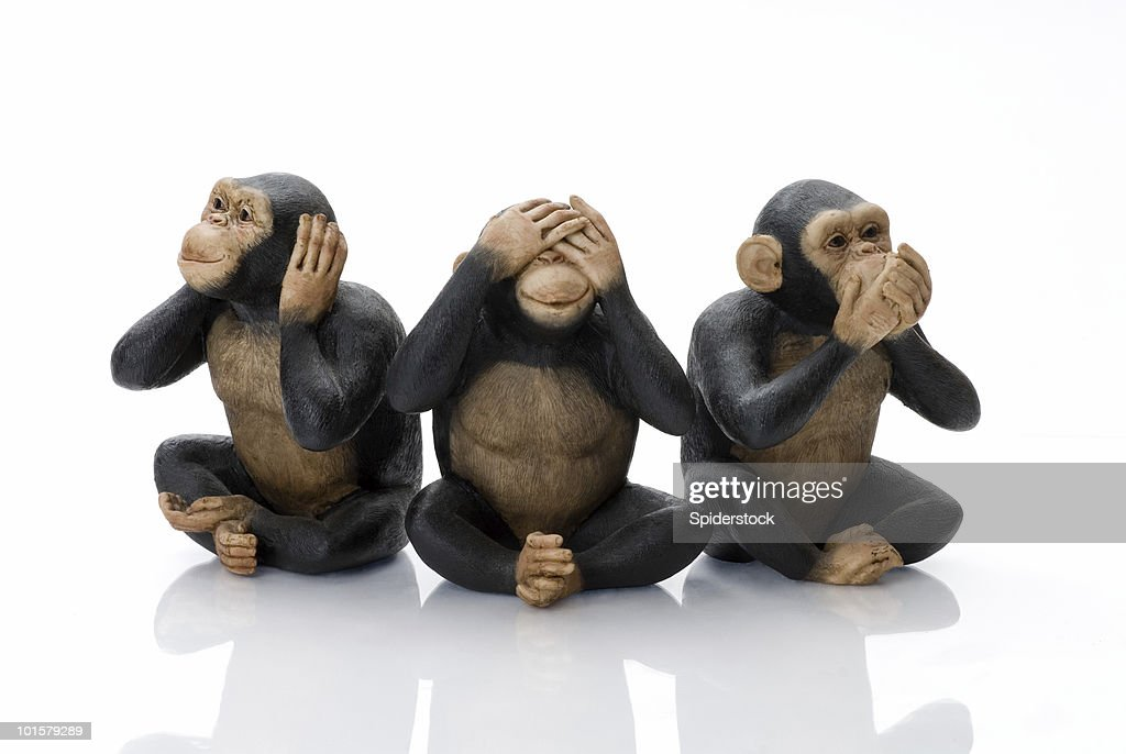 Toy Monkeys : Stock Photo