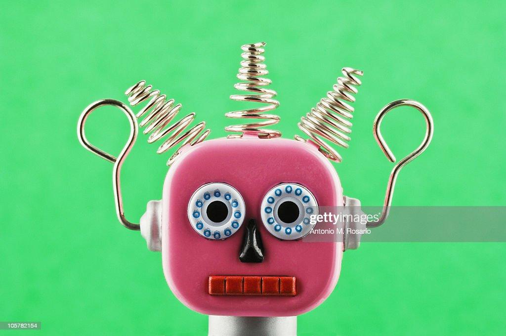 Toy robot : Stock Photo