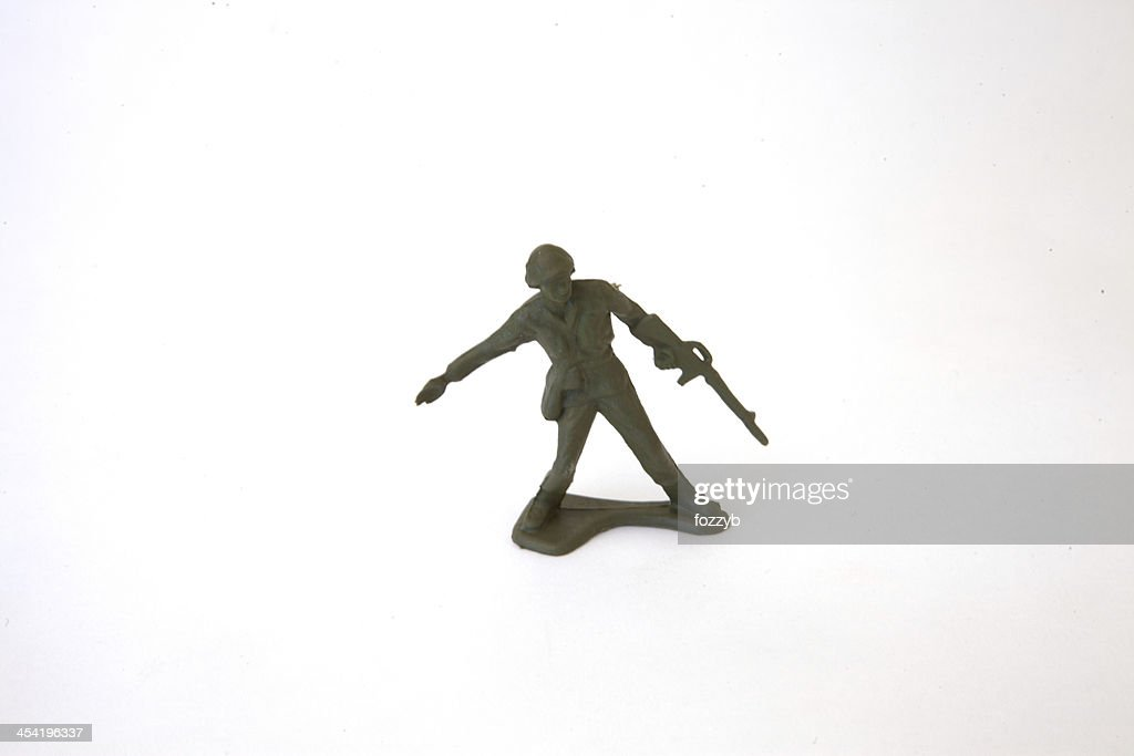 Toy Soldier : Stock Photo