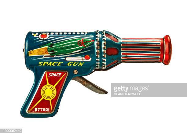 toy space gun - antique stock pictures, royalty-free photos & images