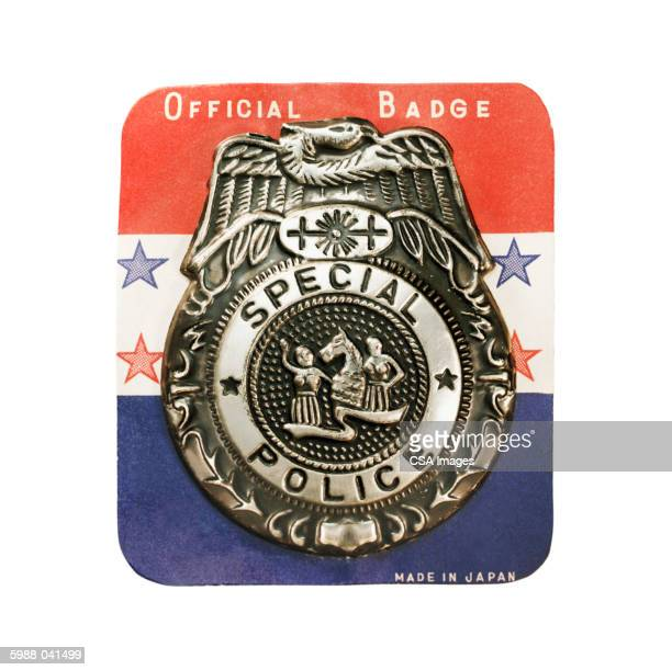 """Toy """"Special Police"""" Badge"""