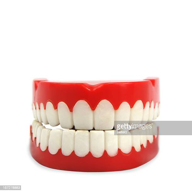 toy teeth - dentures stock pictures, royalty-free photos & images