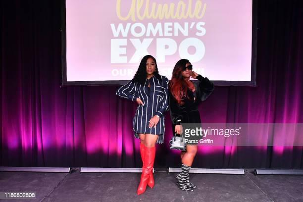 Toya Wright and Reginae Carter attend 2019 Atlanta Ultimate Women's Expo at Cobb Galleria Centre on November 10, 2019 in Atlanta, Georgia.