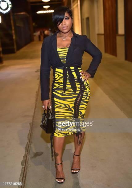 Toya Wright attends A Private Birthday Celebration Honoring TIP at The Brasserie Atlanta on September 25, 2019 in Atlanta, Georgia.