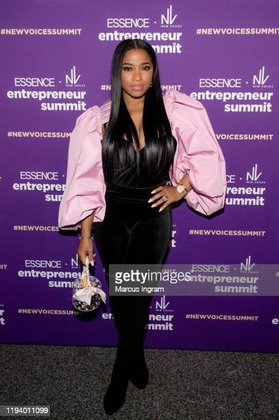 Toya Wright attends the 2019 Essence & Target Holiday Market at West End Production Park on December 14, 2019 in Atlanta, Georgia.