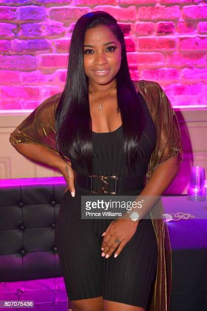Toya Wright attends The Art of Luxury 'Black and White Blowout' Party at Metropolitan Nightclub on July 2 2017 in New Orleans Louisiana