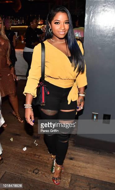 "Toya Wright attends ""The Bonfyre"" Listening Session & Dinner presented by Hitco at King + Duke Restaurant on August 17, 2018 in Atlanta, Georgia."