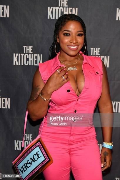 "Toya Wright attends ""The Kitchen"" Atlanta screening hosted by Kandi Burruss at Cinebistro on July 29, 2019 in Atlanta, Georgia."