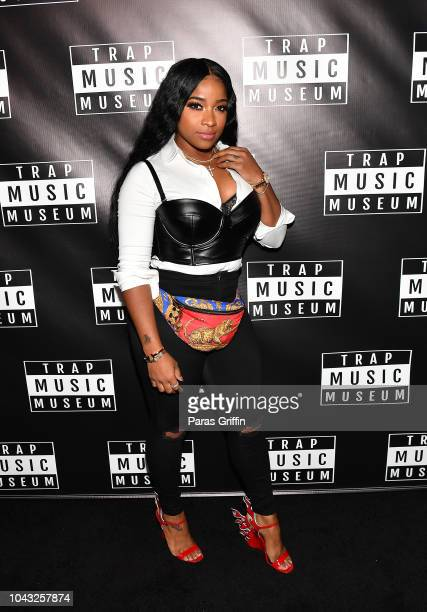 Toya Wright attends Trap Music Museum VIP Preview at Trap Music Museum on September 29, 2018 in Atlanta, Georgia.