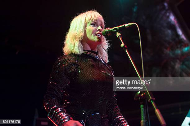 Toyah Performs at O2 Academy Islington on September 9 2016 in London England