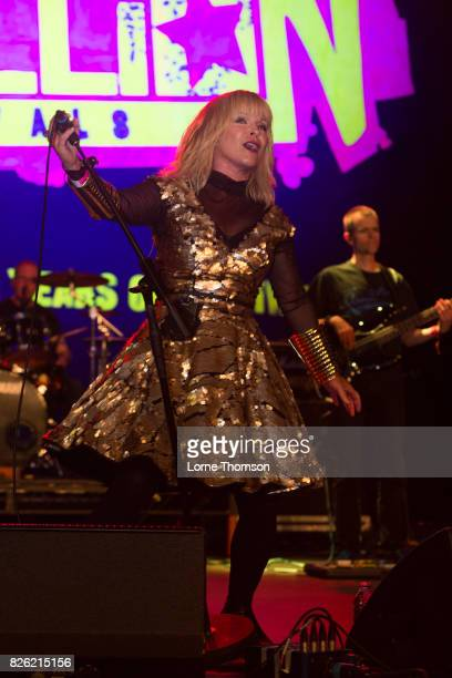 Toyah performs at Rebellion Festival at Winter Gardens on August 3 2017 in Blackpool England