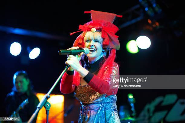 Toyah Wilcox performs on stage at the Corporation on September 29 2012 in Sheffield United Kingdom