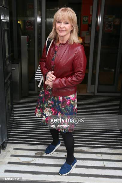 Toyah Willcox arriving at BBC Radio 2 Studios on March 26 2019 in London England