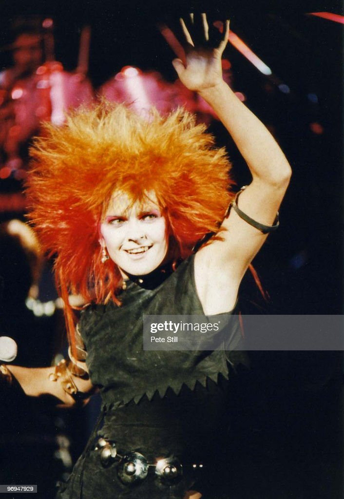 Toyah Willcox performs on stage at The Drury Lane Theatre on December 24th, 1981 in London, England.