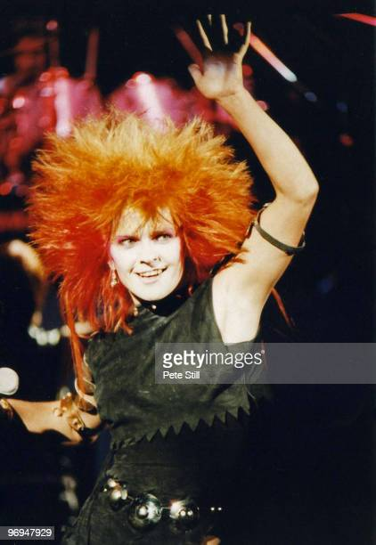 Toyah Willcox performs on stage at The Drury Lane Theatre on December 24th 1981 in London England