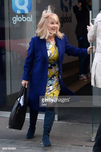 Toyah Willcox sighting ouside Global house on January 22 2018 in London England
