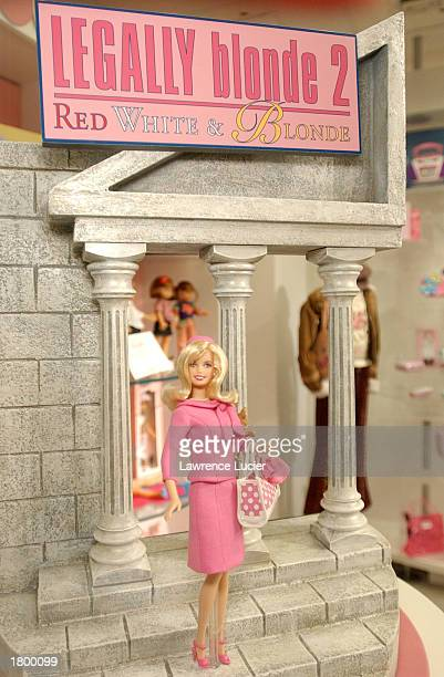Toymaker Mattel features the Legally Blonde 2 collection at the 2003 Toy Fair February 16, 2003 in New York City.