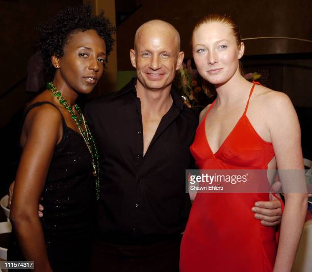 Toyna Miller, Jeff Grubb and Maggie Rizer during The 8th Annual Elle Decor Dining by Design Benefiting the Design Industries Foundation Fighting AIDS...