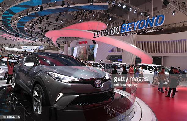 Toyota 86 vehicle is seen at the Indonesia International Auto Show in Tangerang near Jakarta Indonesia August 19 2016