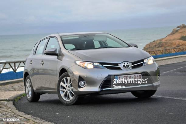 Toyota Auris on the road