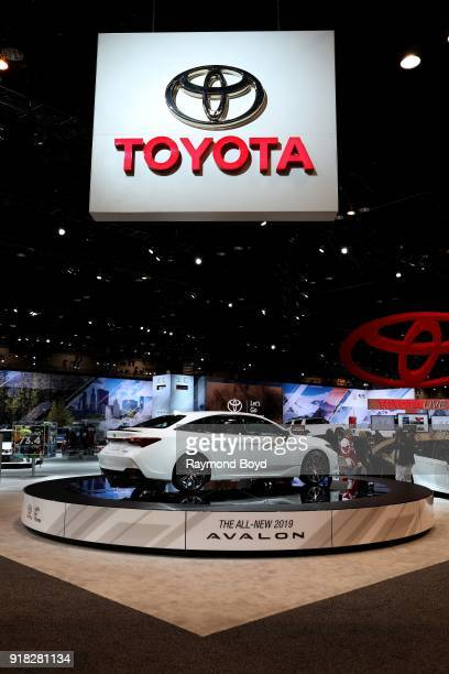 Toyota Avalon is on display at the 110th Annual Chicago Auto Show at McCormick Place in Chicago Illinois on February 8 2018
