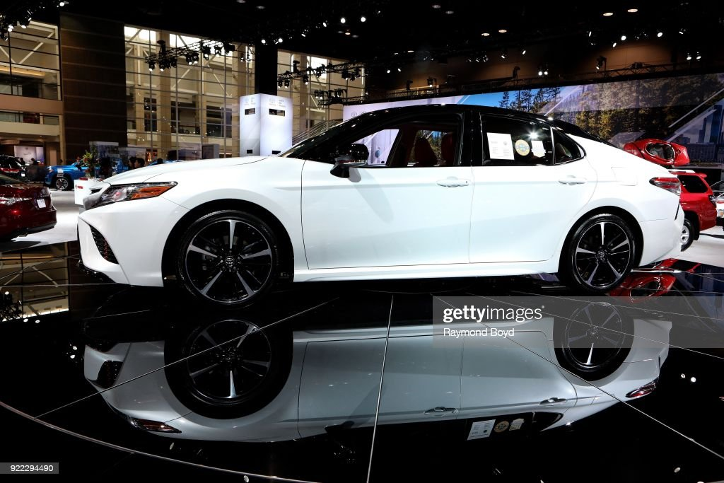 Toyota Avalon is on display at the 110th Annual Chicago Auto Show at McCormick Place in Chicago, Illinois on February 9, 2018.