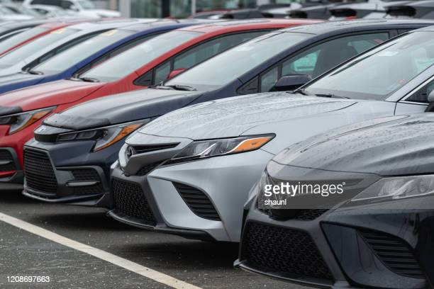 2020 toyota camry sedans - toyota motor co stock pictures, royalty-free photos & images