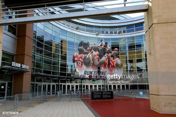 Toyota Center home of the Houston Rockets basketball team in Houston Texas on November 4 2017