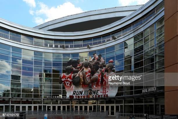 Toyota Center home of the Houston Rockets basketball team in Houston Texas on November 6 2017