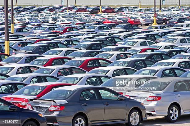 toyota corolla assembly plant - toyota motor co stock pictures, royalty-free photos & images