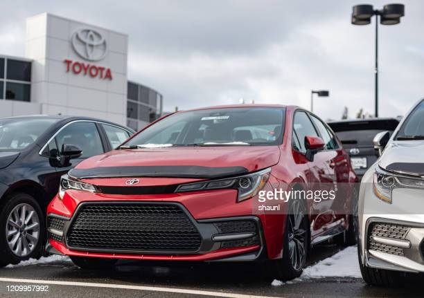 2020 toyota corolla - toyota motor co stock pictures, royalty-free photos & images