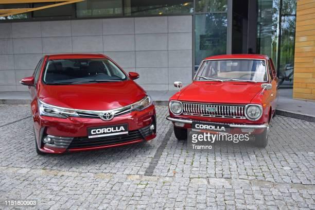 トヨタカローラ2世代 - トヨタ自動車 ストックフォトと画像