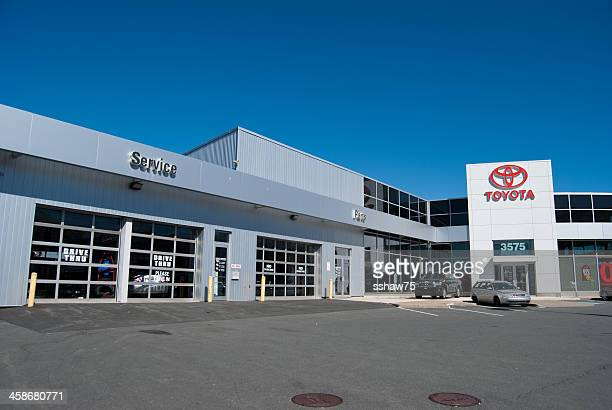 toyota dealership in halifax, nova scotia - toyota motor co stock pictures, royalty-free photos & images