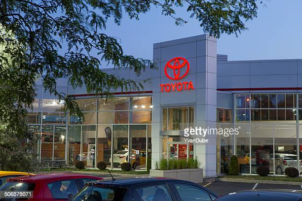 toyota dealership - toyota motor co stock pictures, royalty-free photos & images