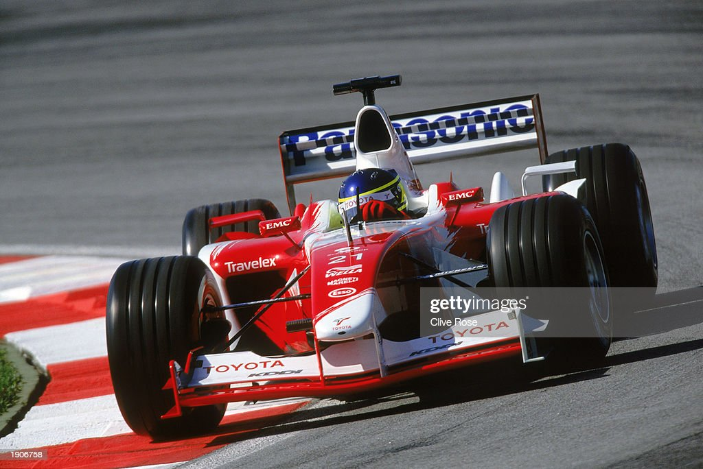 Toyota driver Cristiano Da Matta of Brazil in action during the Malaysian Formula One Grand Prix held on March 23, 2003 at the Sepang International Circuit, in Kuala Lumpur, Malaysia.