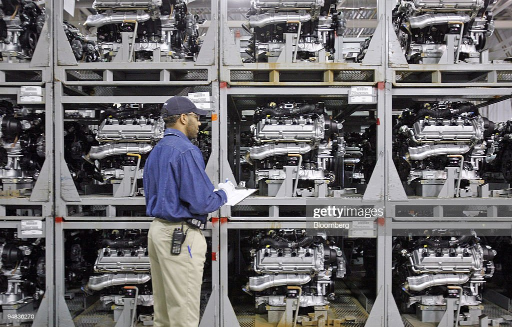 Lovely Toyota Employee Kerry Baker Checks Motors In The Shipping Department Of The Toyota  Motor Manufacturing Plant