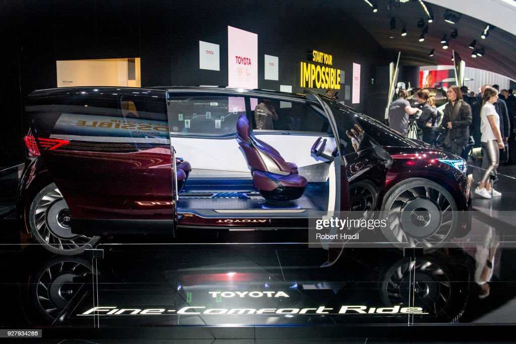 88th Geneva International Motor Show Press Days : Nachrichtenfoto