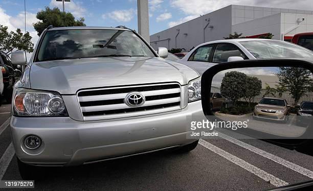 Toyota Highlander And 2017 Camry S Are Seen On A Lot November 9 In