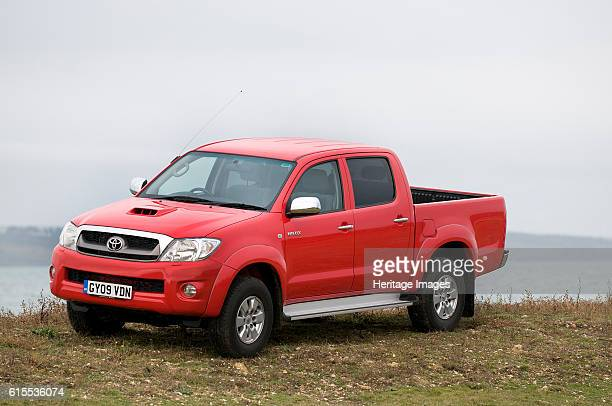Toyota HiLux pick up truck Artist Unknown