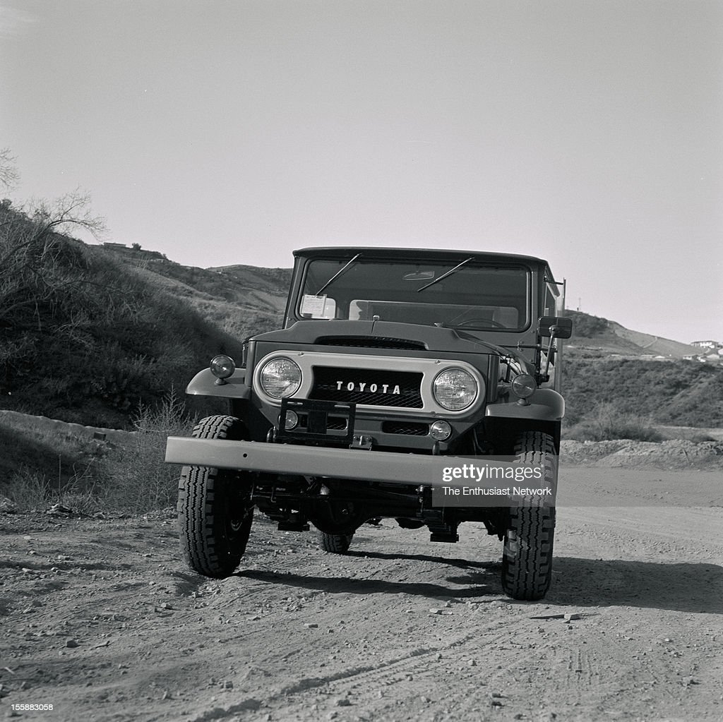 Toyota Land Cruiser Fj45 Longbed Pickup News Photo Getty Images 1967