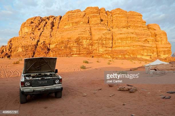 Toyota Land Cruiser in Wadi Rum, Jordan