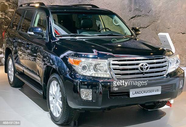 Toyota Land Cruiser V8 4WD off road vehicle front view