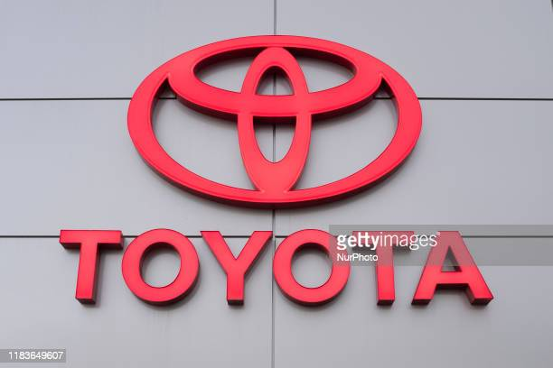 Toyota logo is seen at a car dealership in San Jose, California, United States on Tuesday, November 19, 2019. Toyota has supported President Donald...