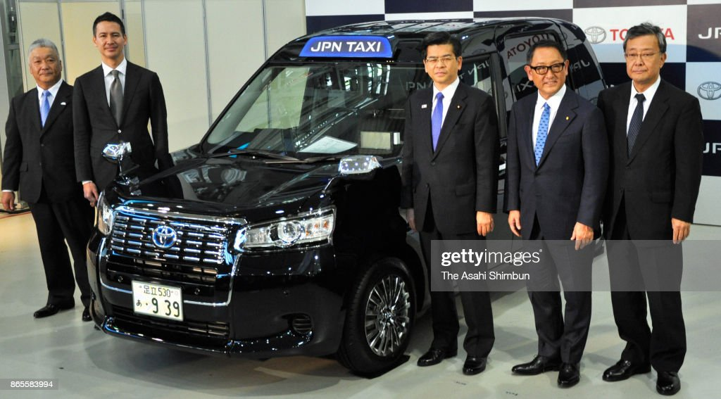 Toyota Launches New Taxi Vehicle