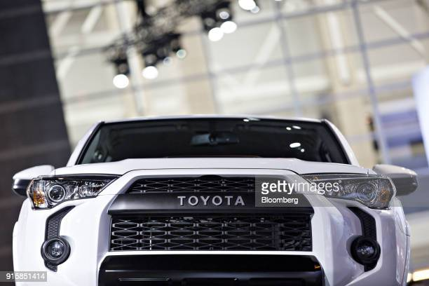 Toyota Motor Corp 4Runner TRD Pro pickup truck sits on display during the Chicago Auto Show in Chicago Illinois US on Thursday Feb 8 2018 First...