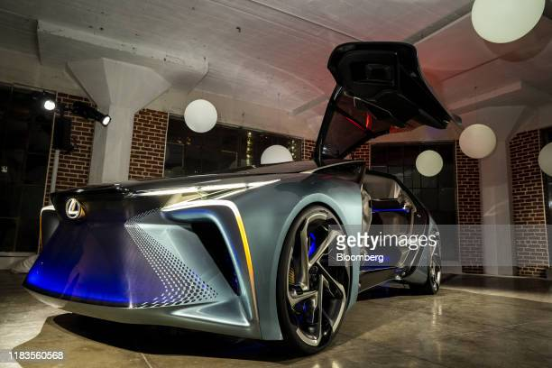 Toyota Motor Corp. Lexus LF-30 Electrified Concept vehicle is displayed during a reveal event ahead of the Los Angeles Auto Show in Los Angeles,...