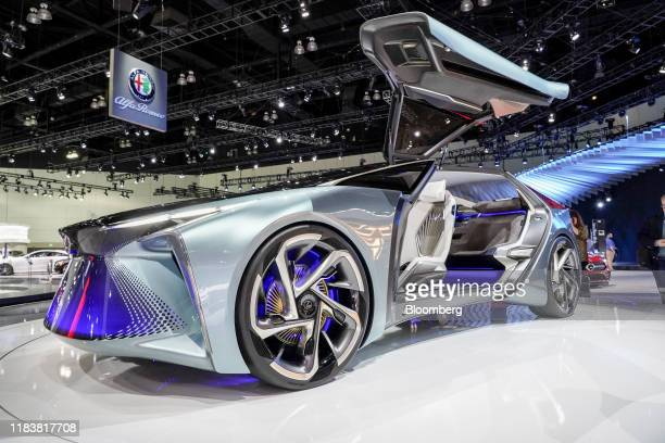 Toyota Motor Corp. Lexus LF-30 Electrified Concept vehicle is displayed at the AutoMobility LA ahead of the Los Angeles Auto Show in Los Angeles,...