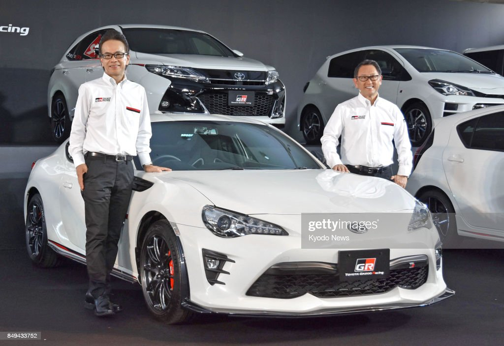 Toyota Unveils New Sports Car Lineup