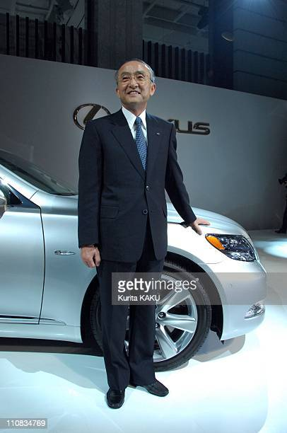 Toyota Motor Corporation President Katsuaki Watanabe Announced The Lexus Sales In Tokyo Japan On May 17 2007 Toyota Motor Corporation President...
